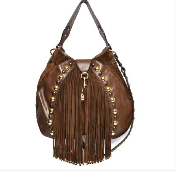 c563862181a01d Gucci Bags | Calfskin Suede Fringe Babouska Hobo Brown | Poshmark